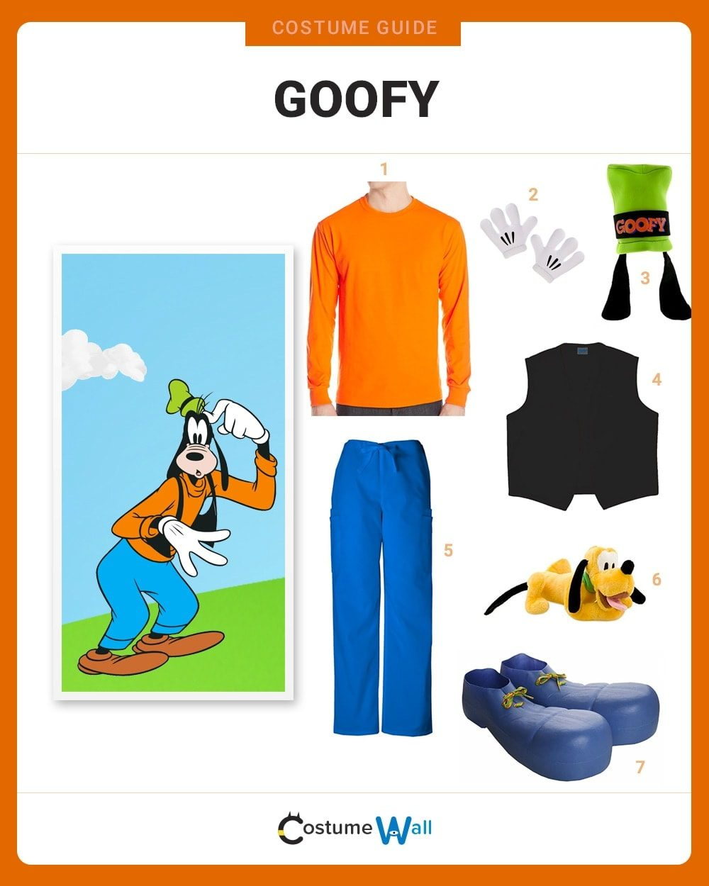 Goofy Costume Guide