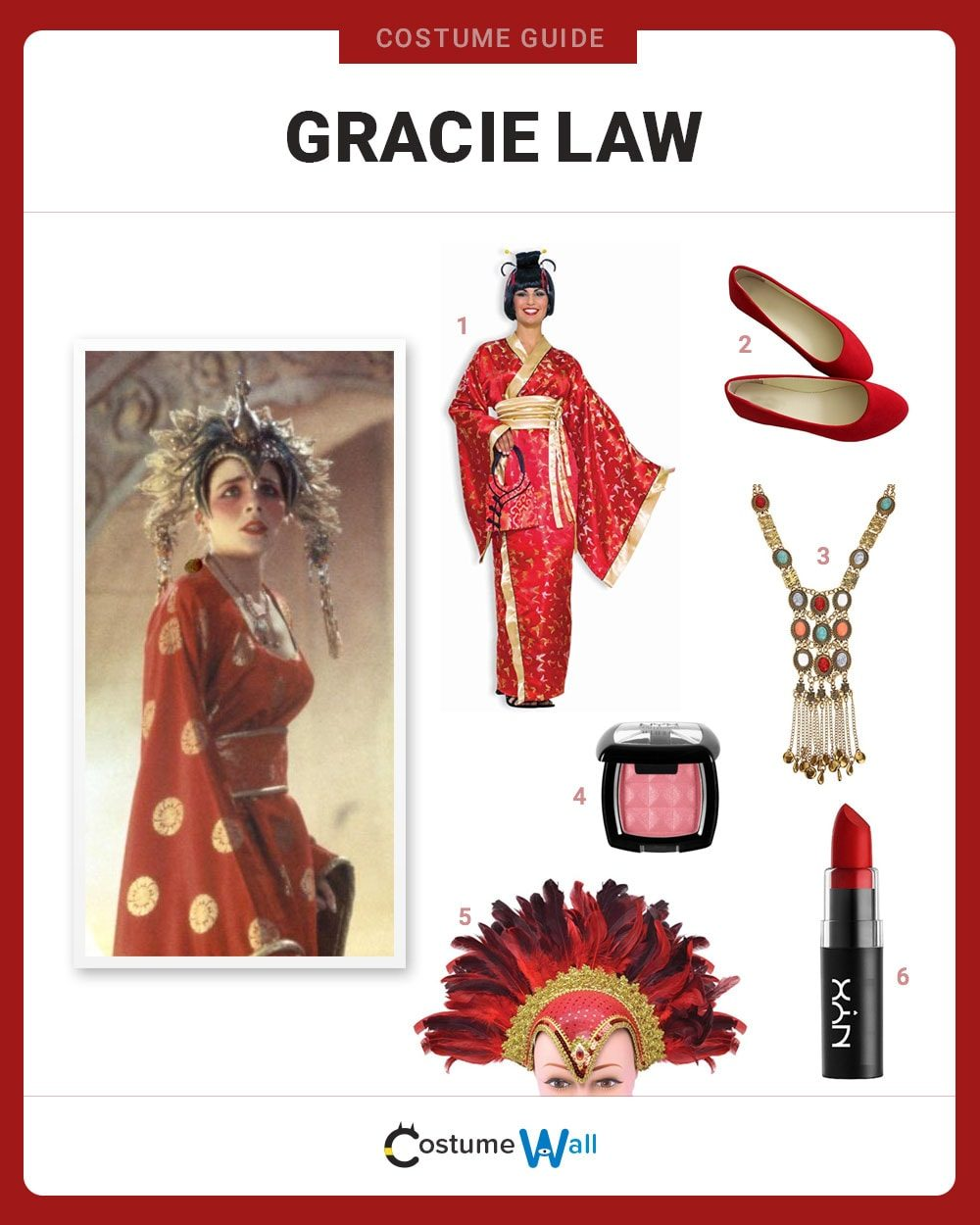 Gracie Law Costume Guide