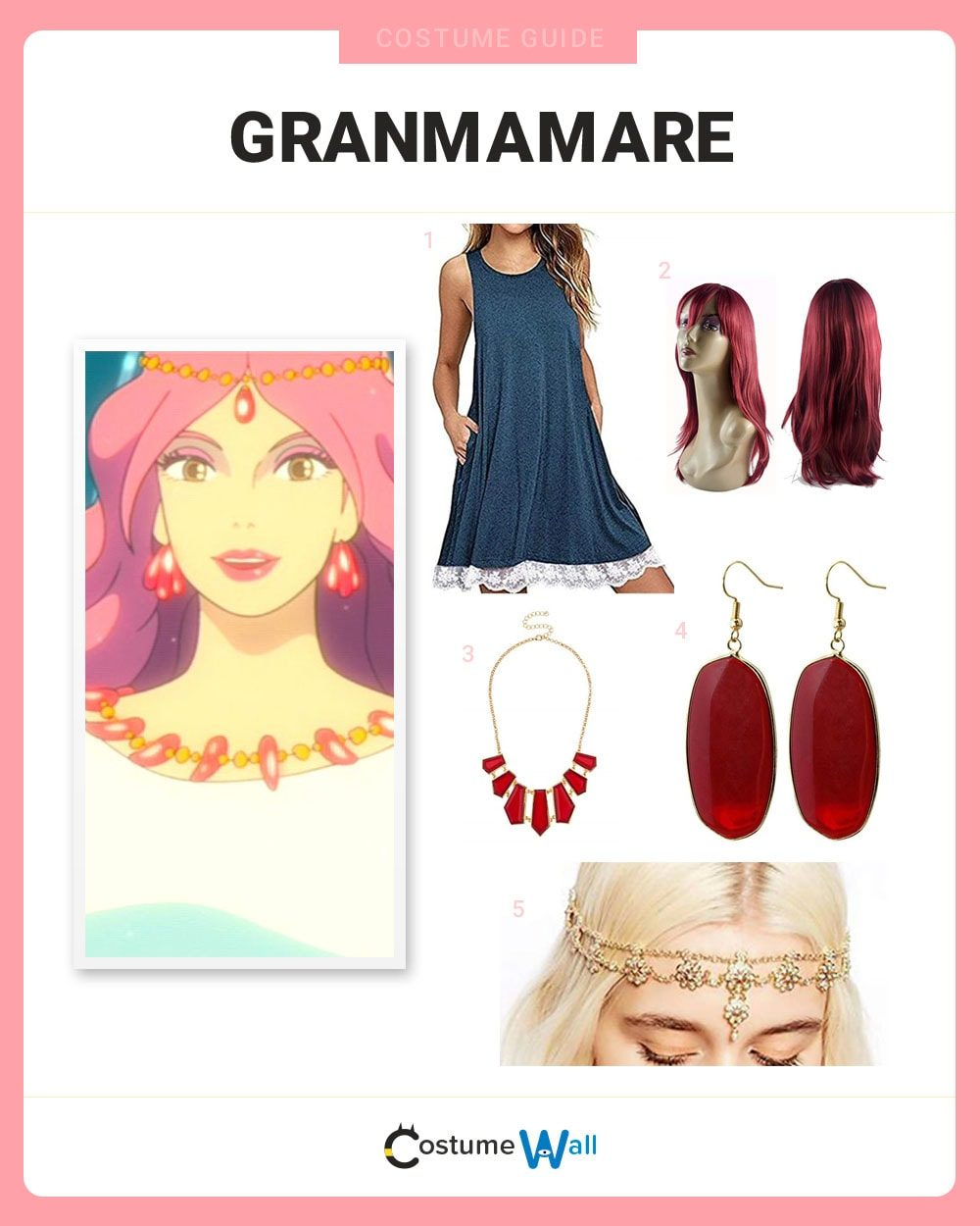 Granmamare Costume Guide