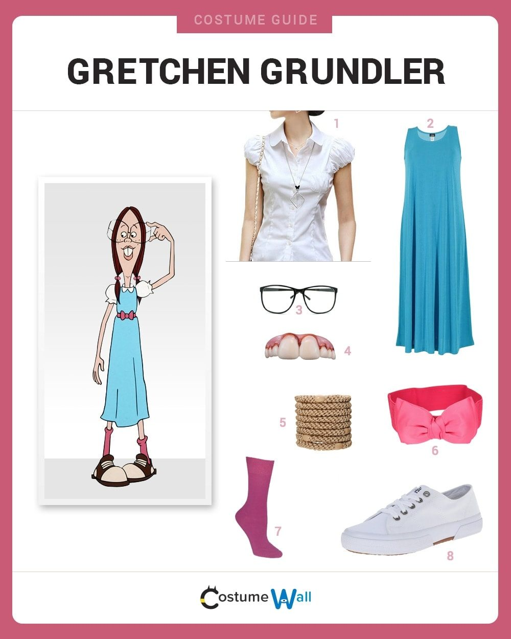 dress like gretchen grundler costume | halloween and cosplay guides