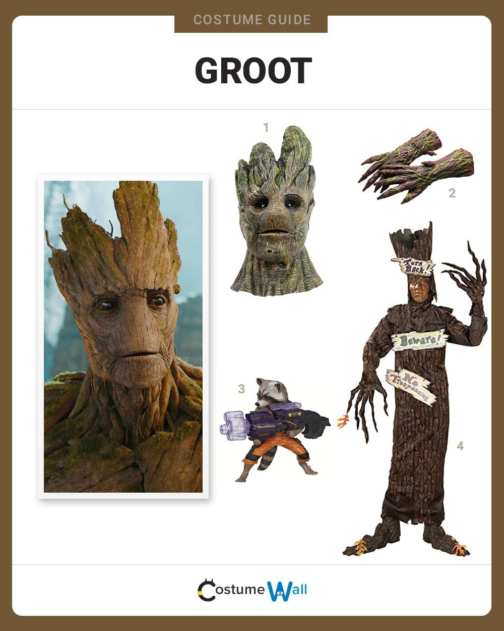 Dress Like Groot Costume | Halloween and Cosplay Guides
