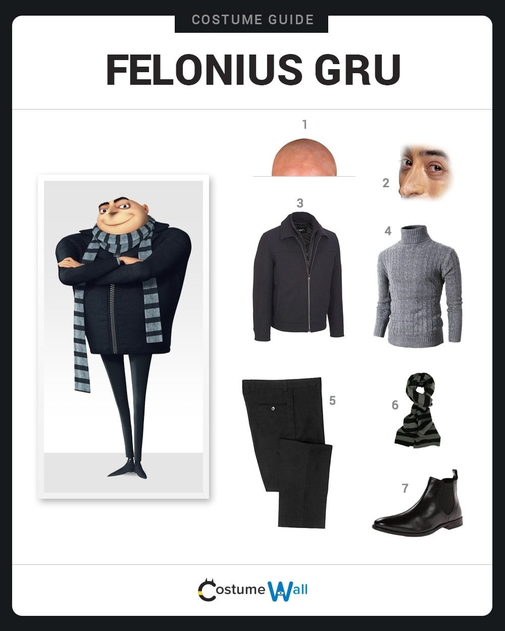 Gru Costume Guide