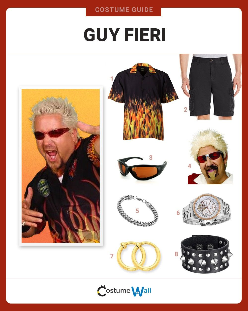 Guy Fieri Costume Guide