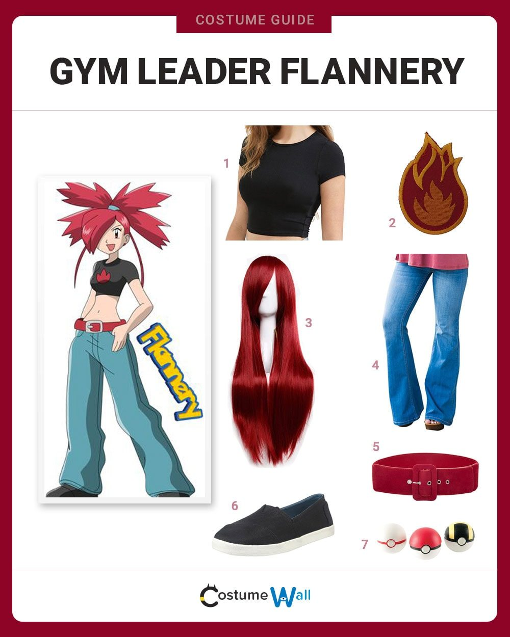 Gym Leader Flannery  Costume Guide