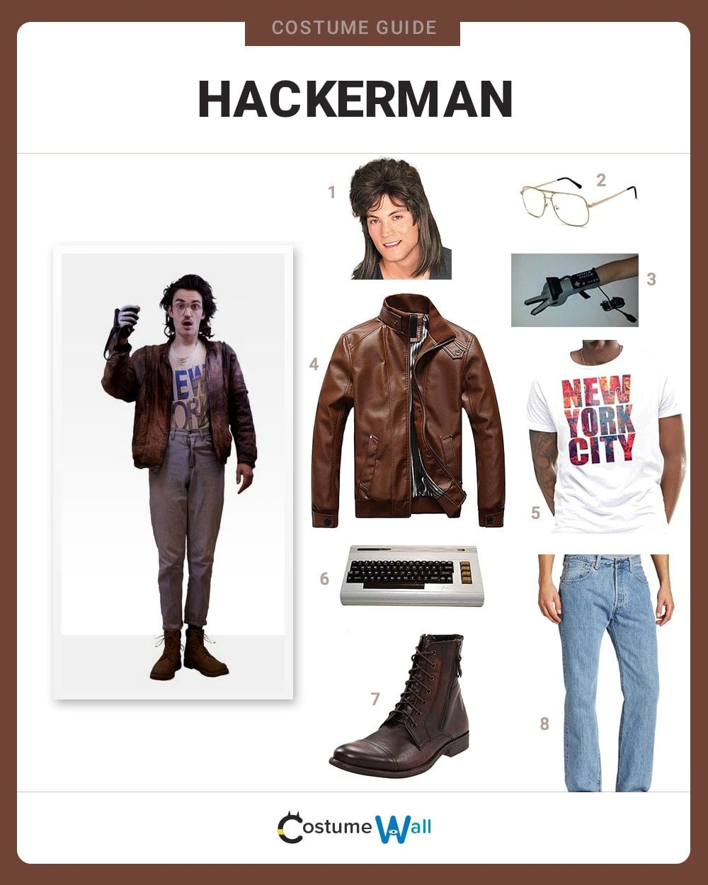 Hackerman Costume Guide