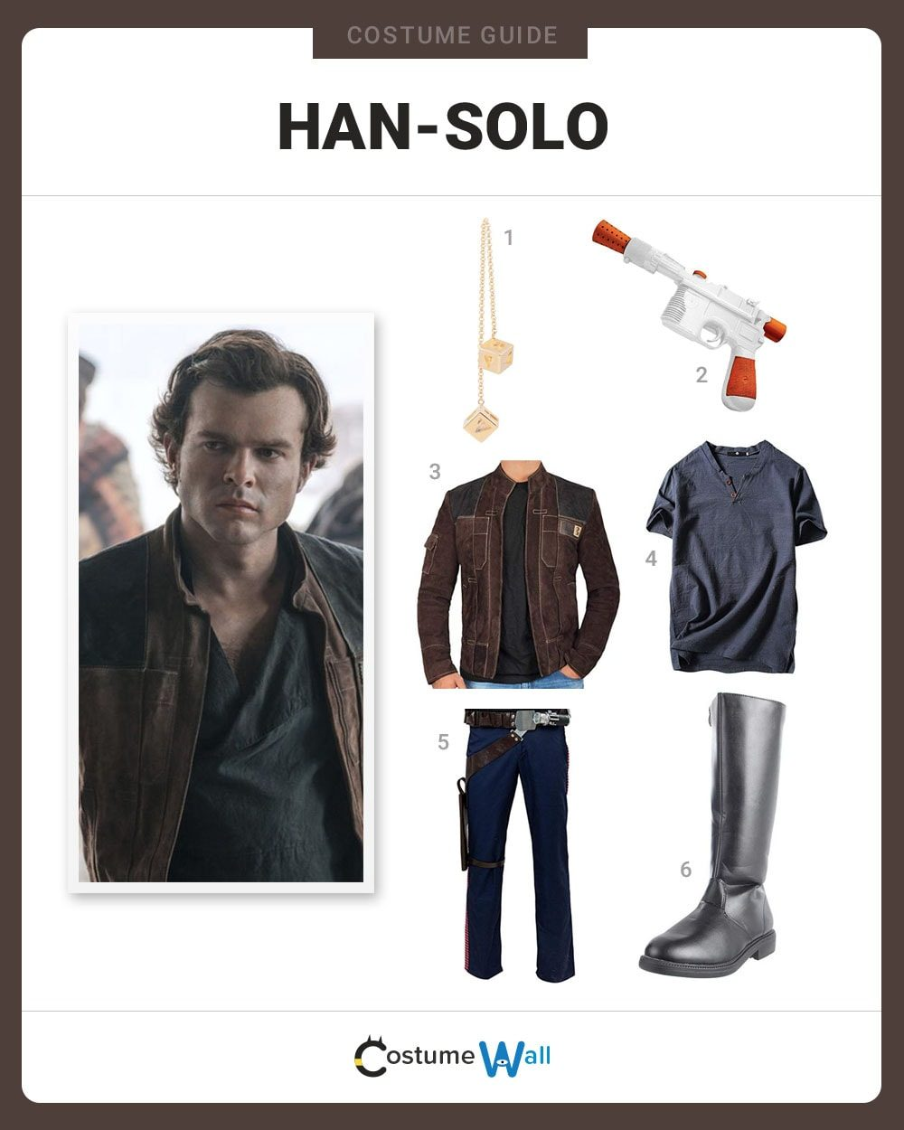 Dress Like Young Han Solo Solo Movie Costume Halloween And