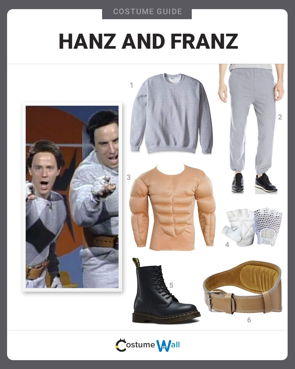 Hanz and Franz Costume Guide