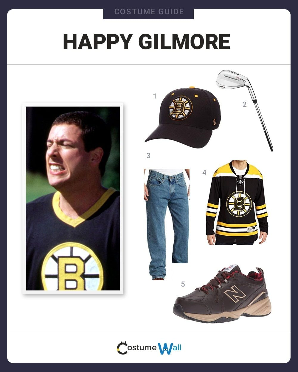 Happy Gilmore Costume Guide