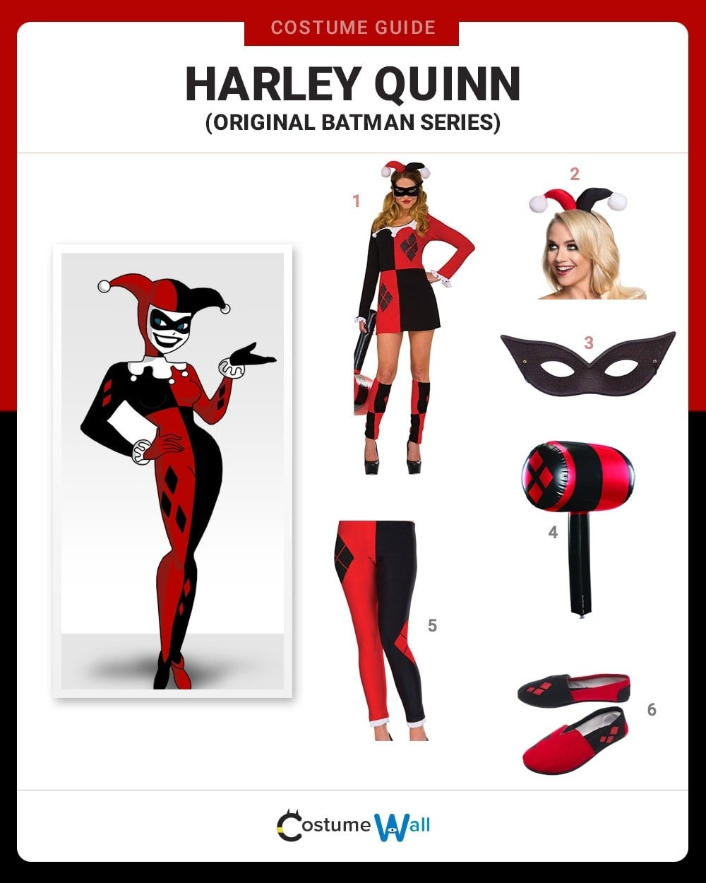 Original Harley Quinn Costume Guide