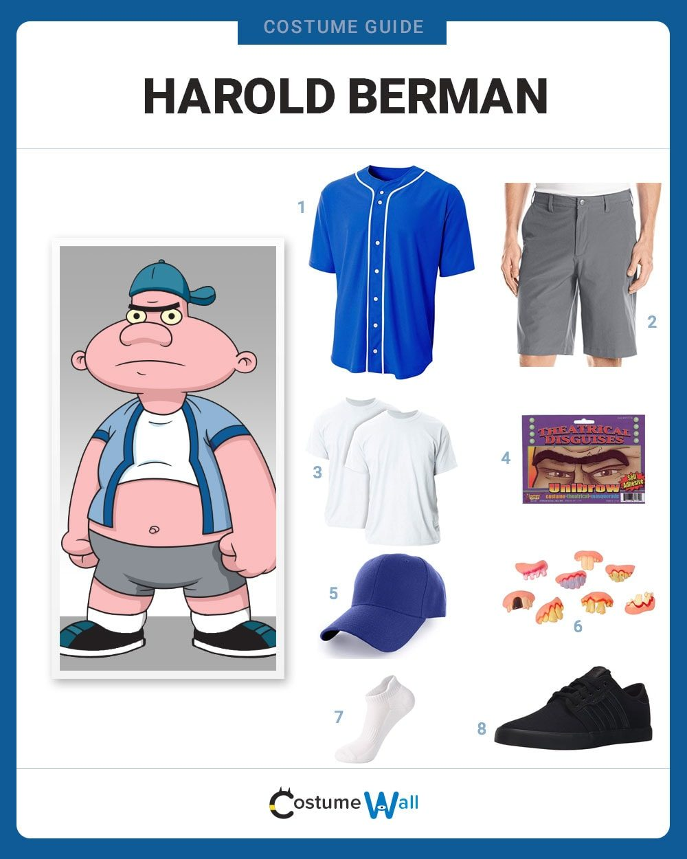 Harold Berman Costume Guide