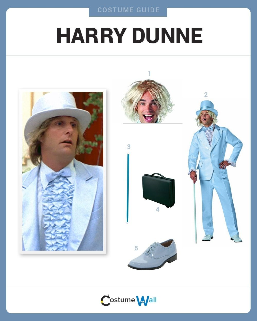 Harry Dunne Costume Guide