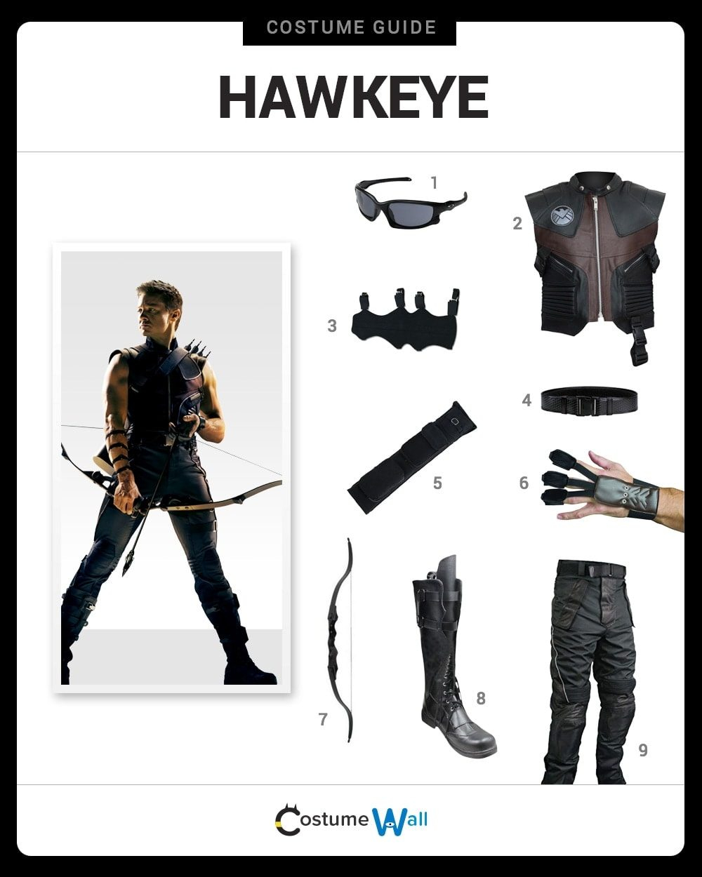 Hawkeye Costume Guide