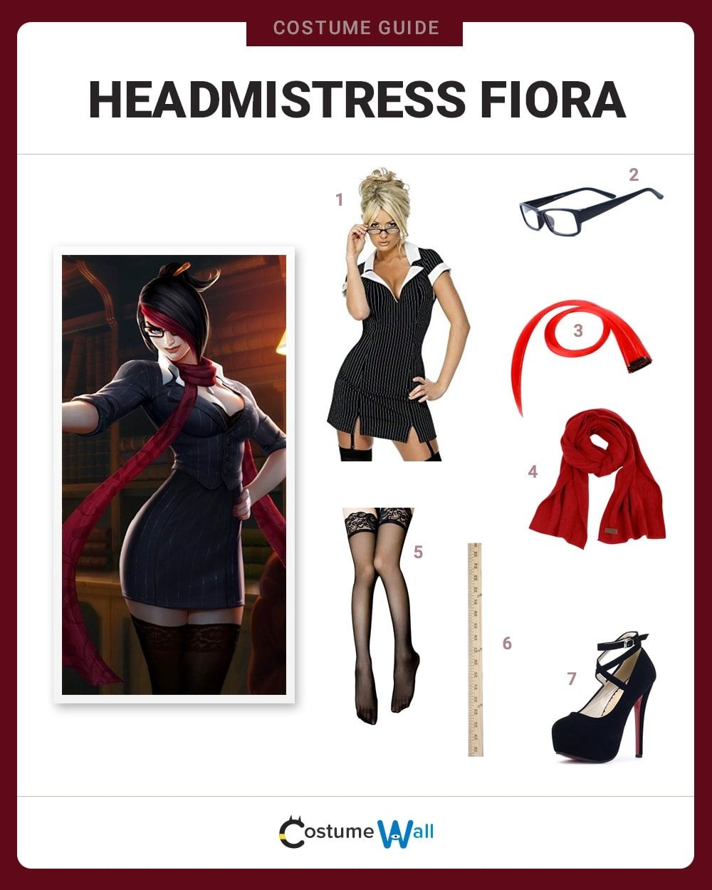 Headmistress Fiora Costume Guide