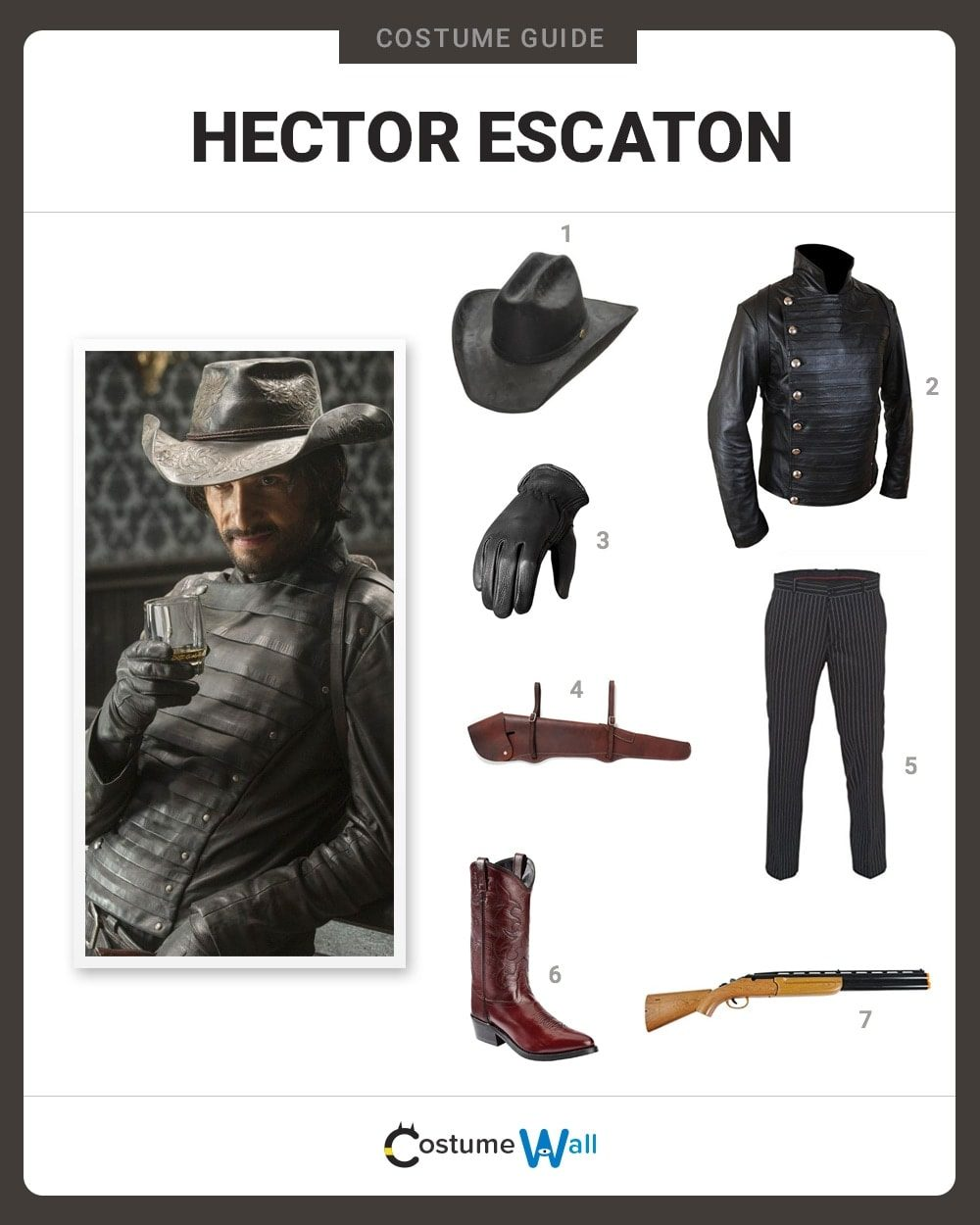 Hector Escaton Costume Guide