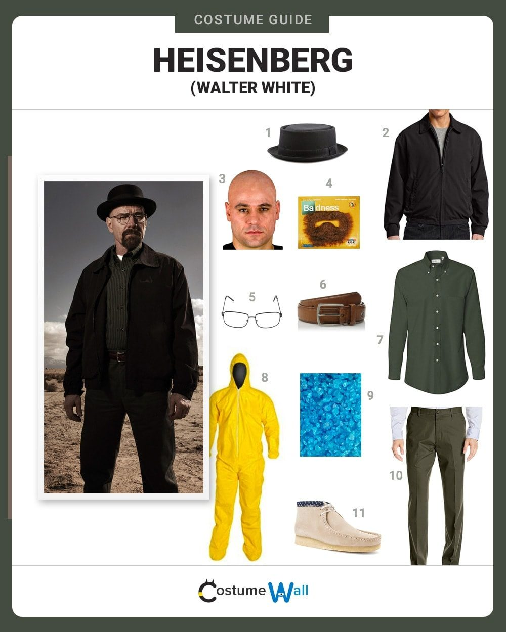 Costume Breakdown  sc 1 st  Costume Wall : walter white halloween costume  - Germanpascual.Com