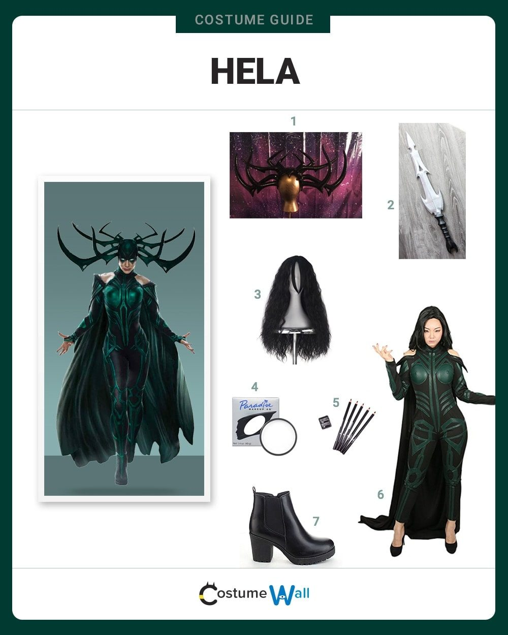 Hela Costume Guide
