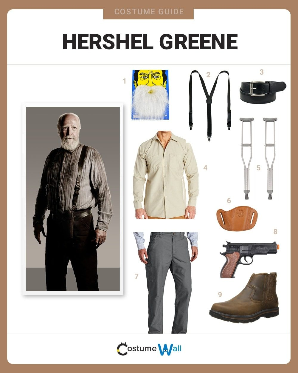 Hershel Greene Costume