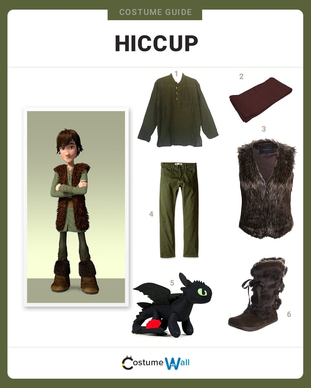 Hiccup Costume Guide