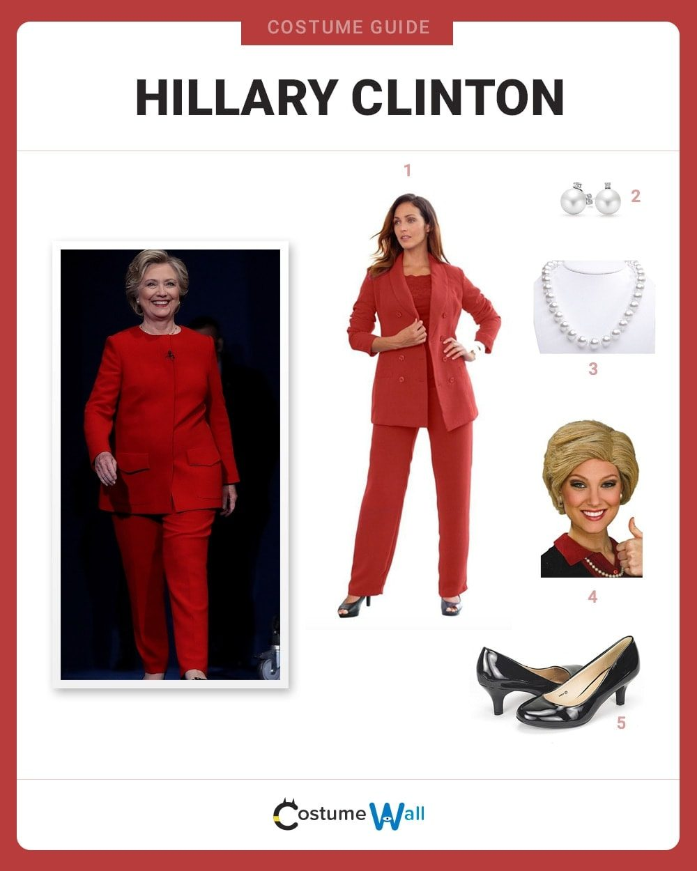 Hillary Clinton Costume Guide
