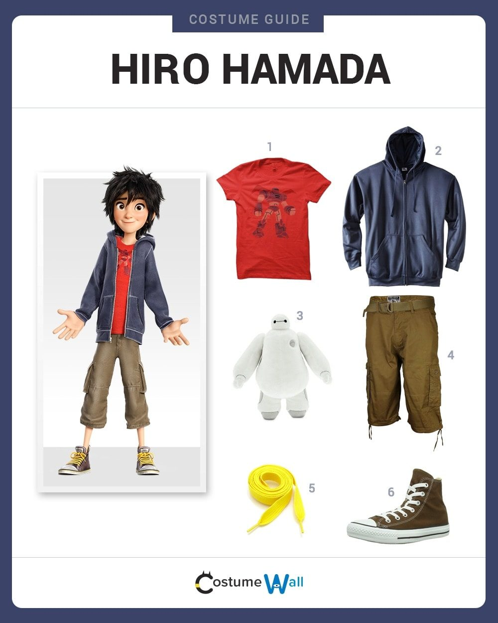 Big Hero 6 Halloween Costume And Cosplay Guides Costume Wall