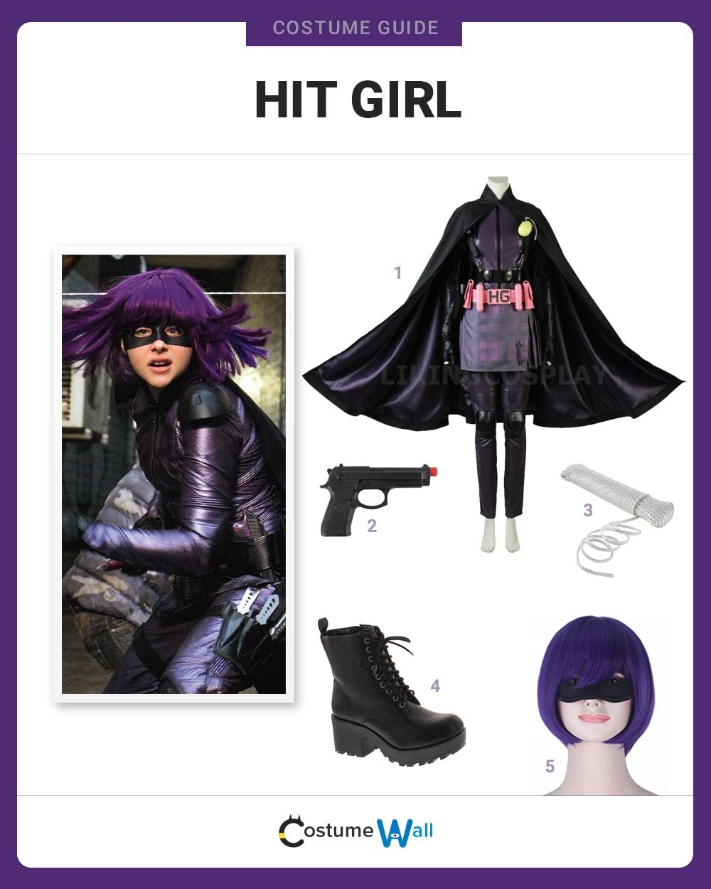 Hit-Girl Costume Guide