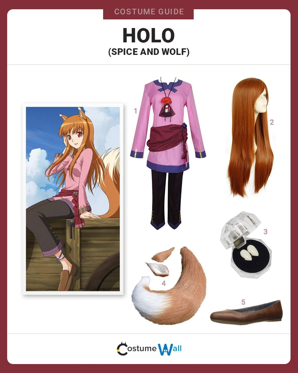 Holo Costume Guide