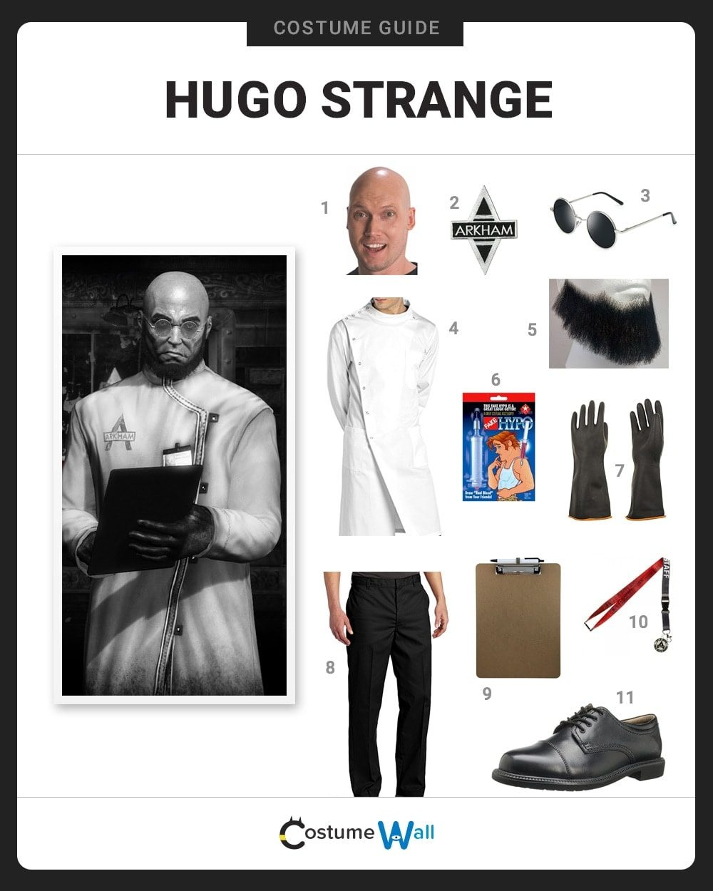 Hugo Strange Costume Guide