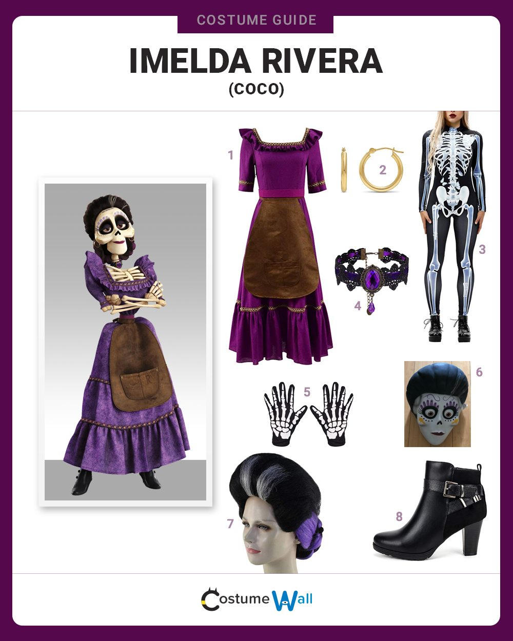 Imelda Rivera Costume Guide
