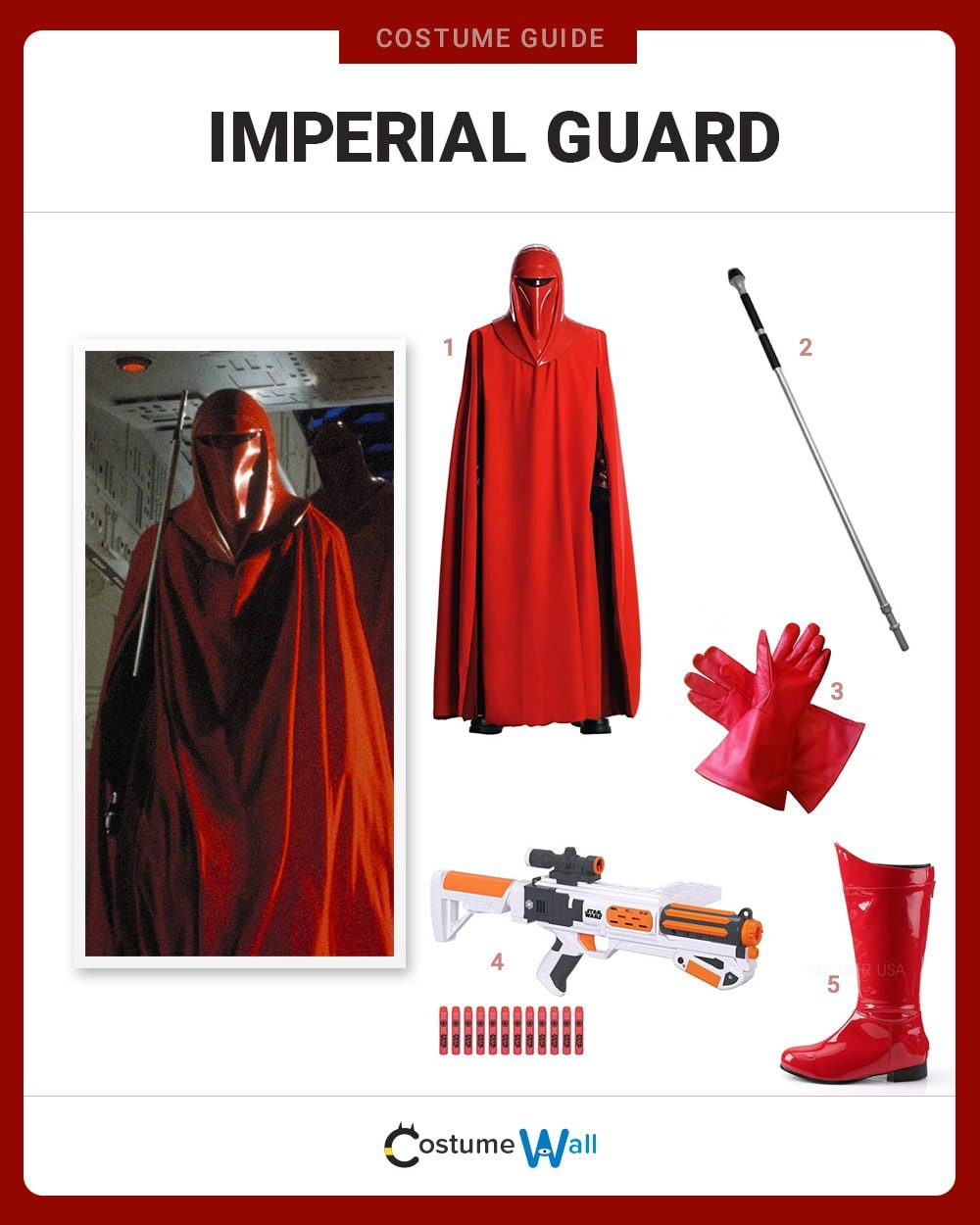 Imperial Guard Costume Guide