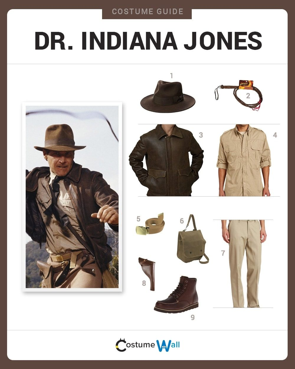Indiana Jones Costume Guide