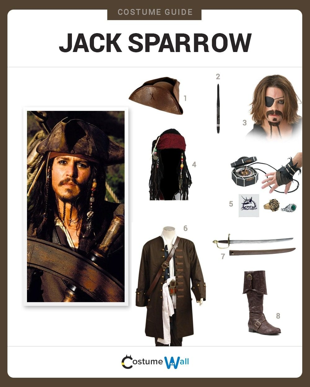 Jack Sparrow Costume Guide