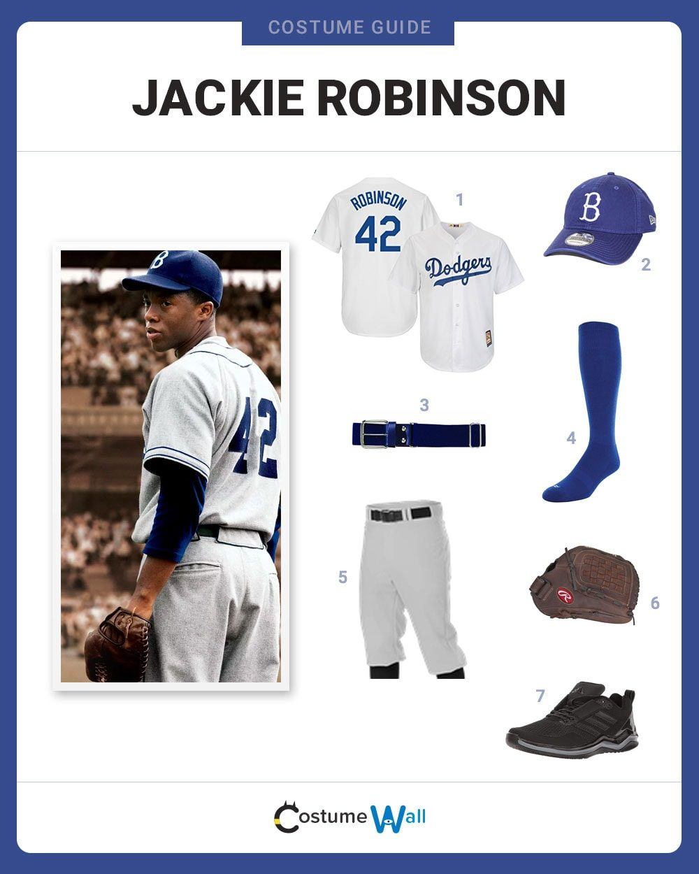 Items You ll Need. Jackie Robinson Jersey See on Amazon · Dodgers ... 206cd457b62