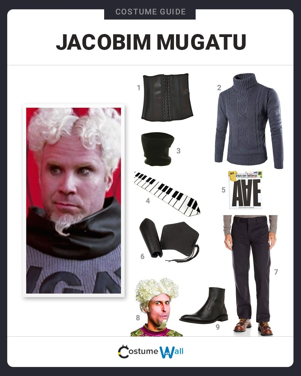 Jacobim Mugatu Costume Guide