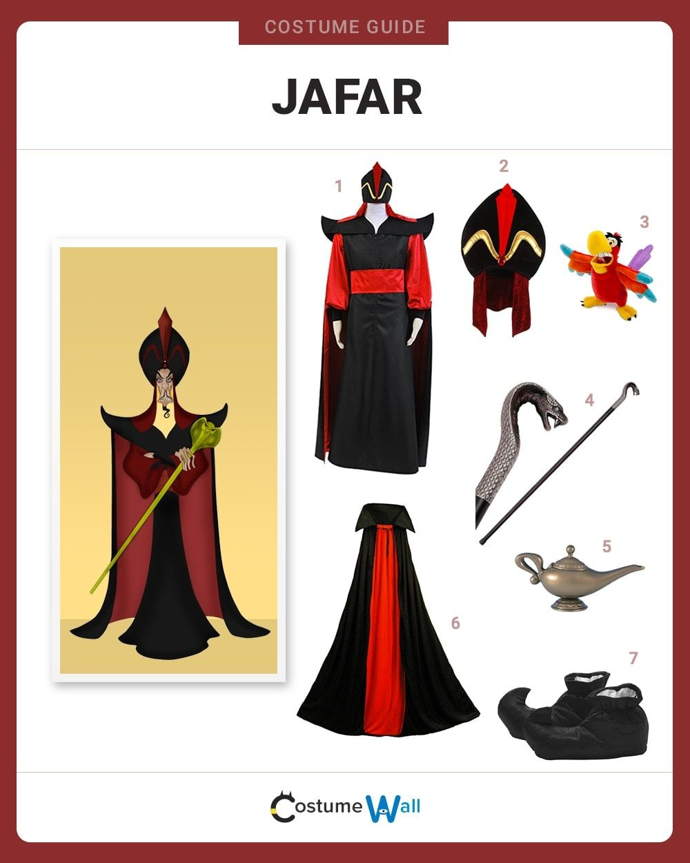 Jafar Costume Guide