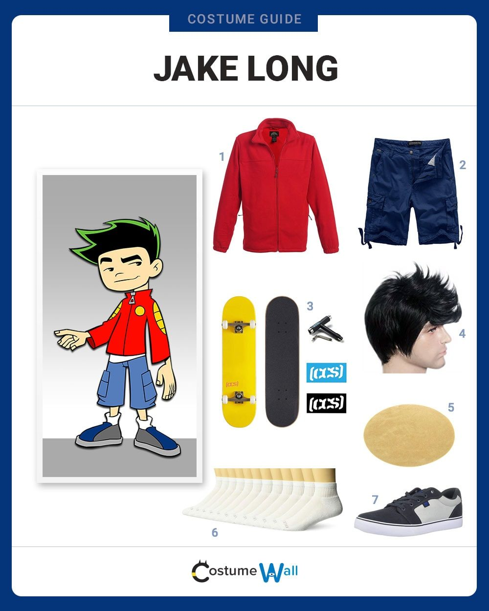 Jake Long Costume Guide