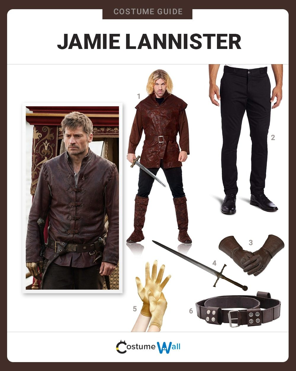 Jamie Lannister Costume Guide