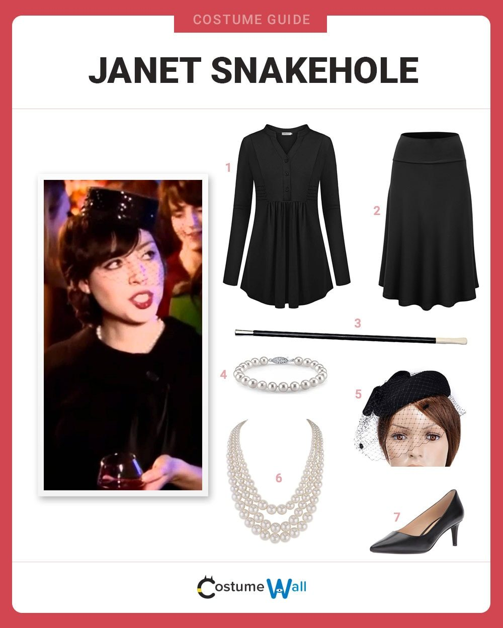 Janet Snakehole Costume Guide