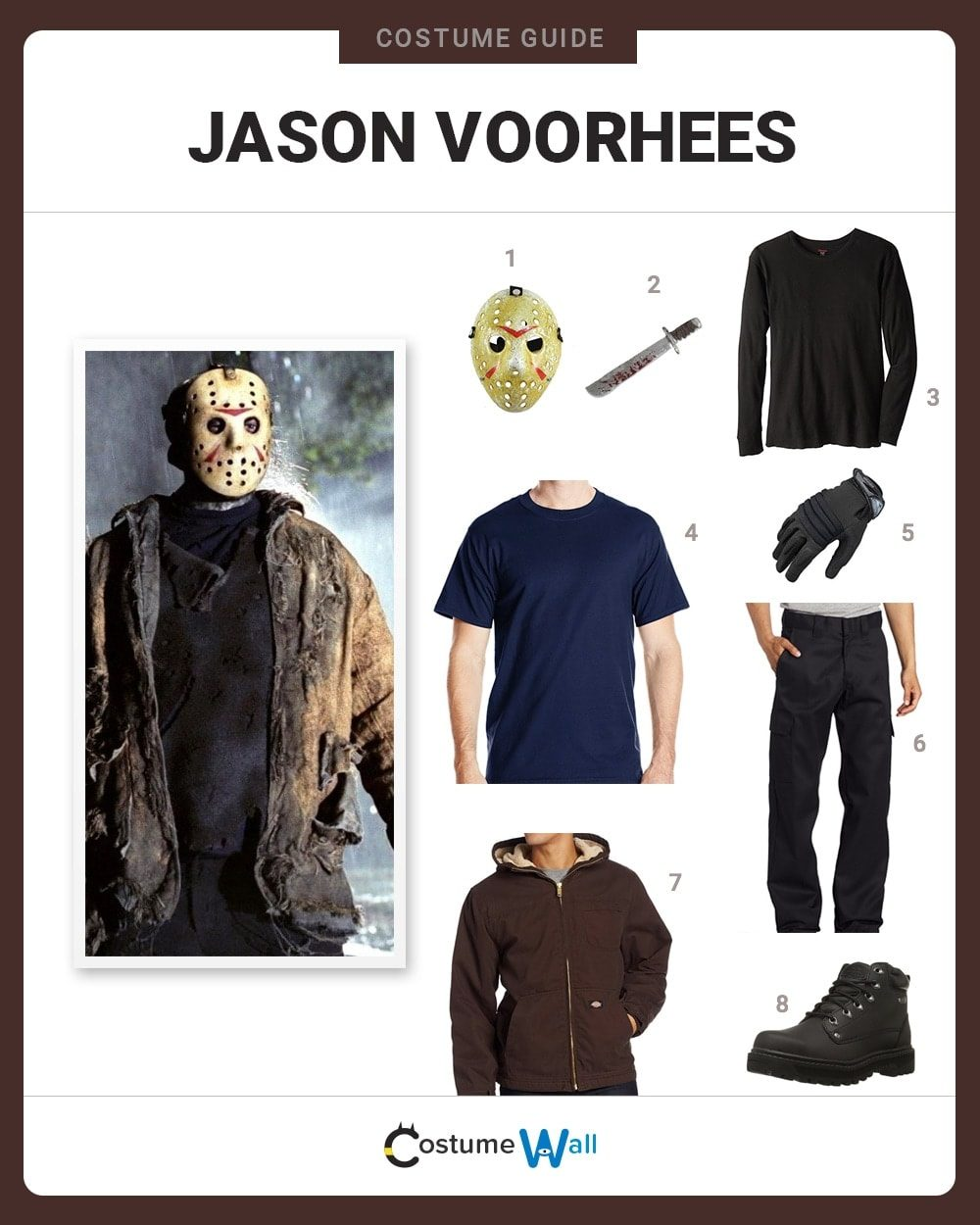 dress like jason voorhees costume | halloween and cosplay guides