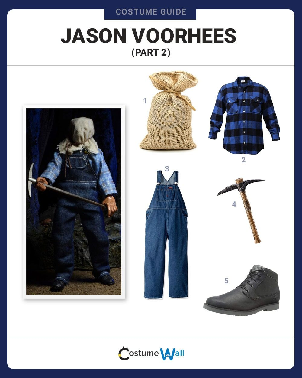 dress like jason voorhees (part 2) costume | halloween and cosplay