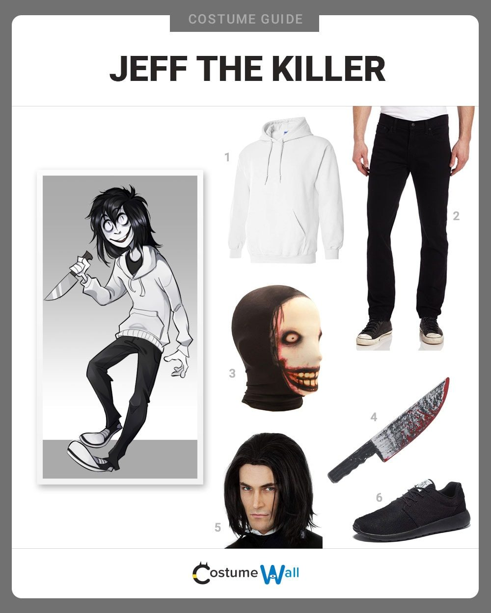 Jeff the Killer Costume Guide