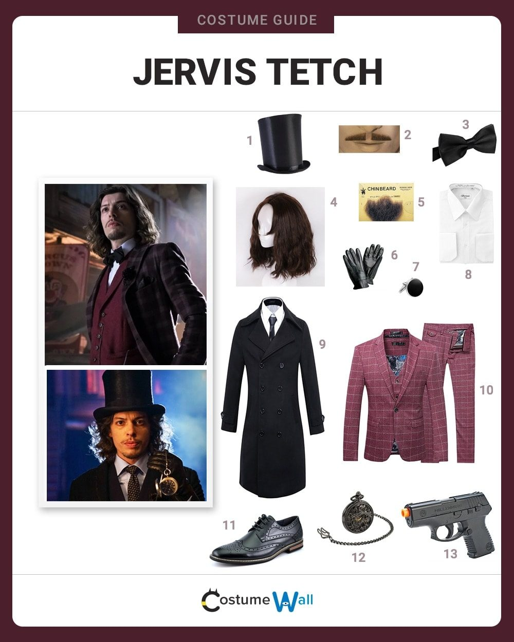 Jervis Tetch Costume