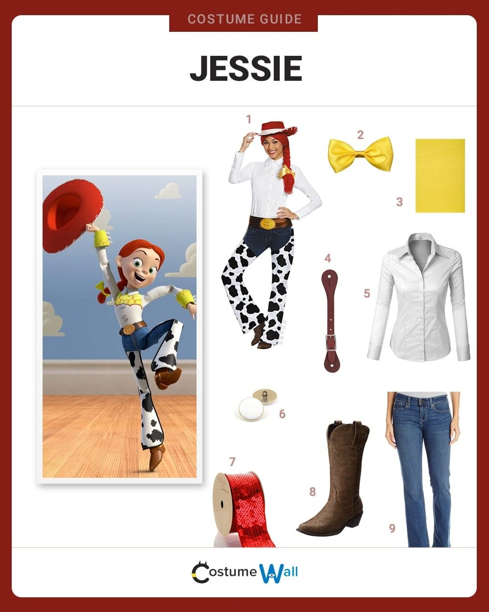 Jessie Costume Guide
