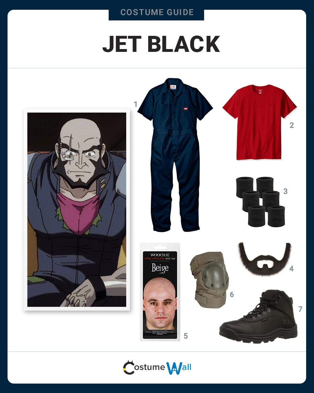 Jet Black Costume Guide
