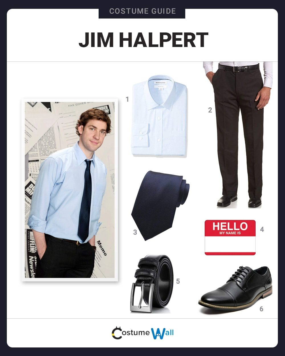 Jim Halpert Costume Guide