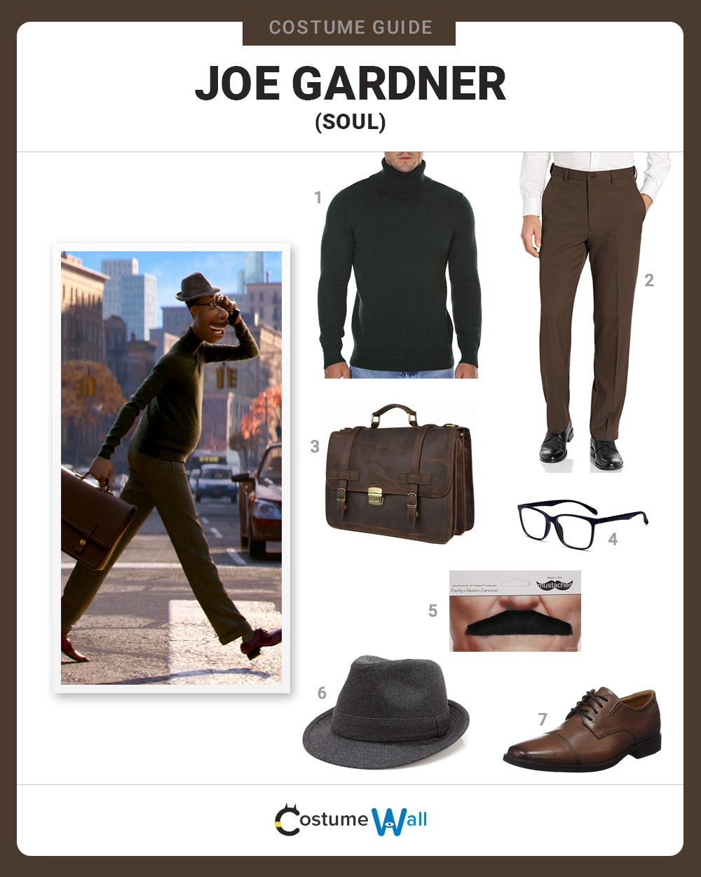 Joe Gardner Costume Guide