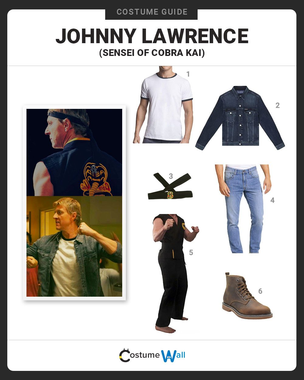 Johnny Lawerence Costume Guide