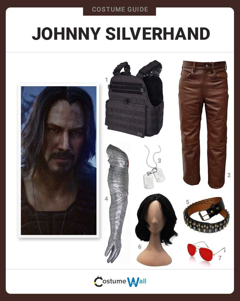 Johnny Silverhand Costume Guide