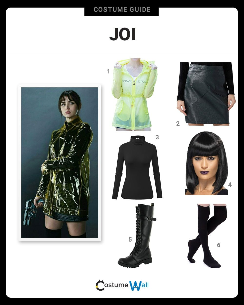 Dress Like Joi From Blade Runner Costume Halloween And Cosplay Guides