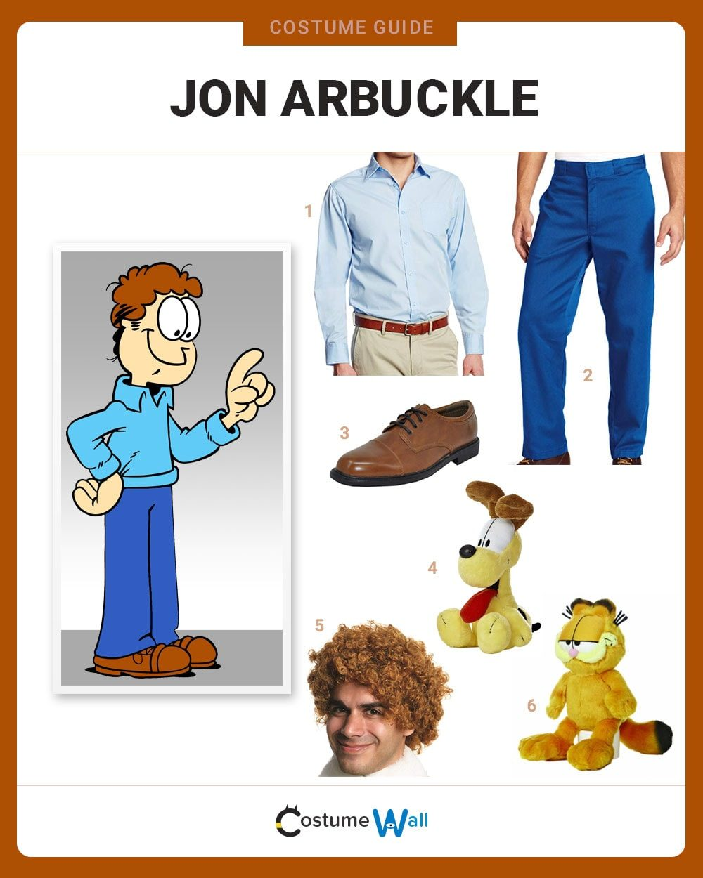 Dress Like Jon Arbuckle Costume Halloween And Cosplay Guides