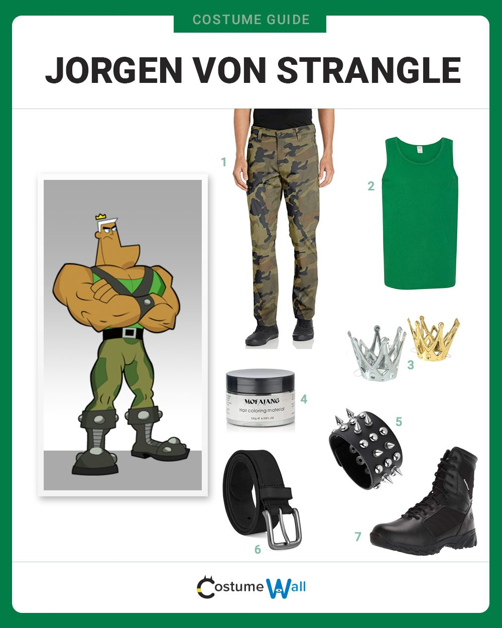 Jorgen Von Strangle Costume Guide